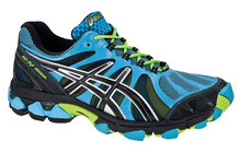 Asics Women's Gel Fujisensor G-TX W blue/black/lime